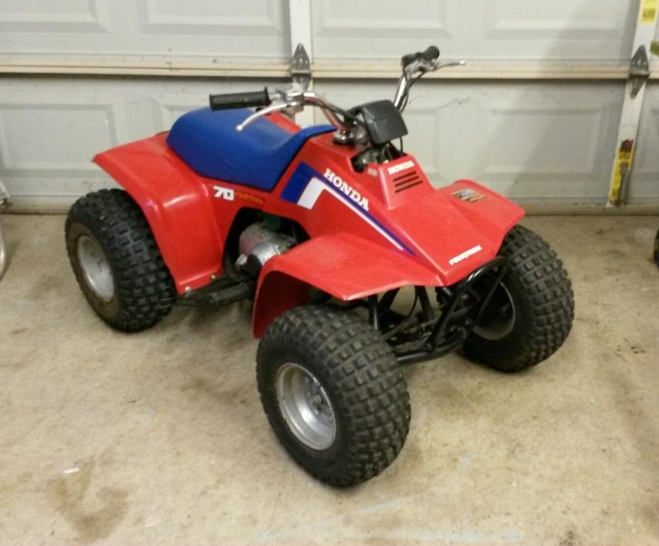 1986 Honda Trx 70  Garland Tx -