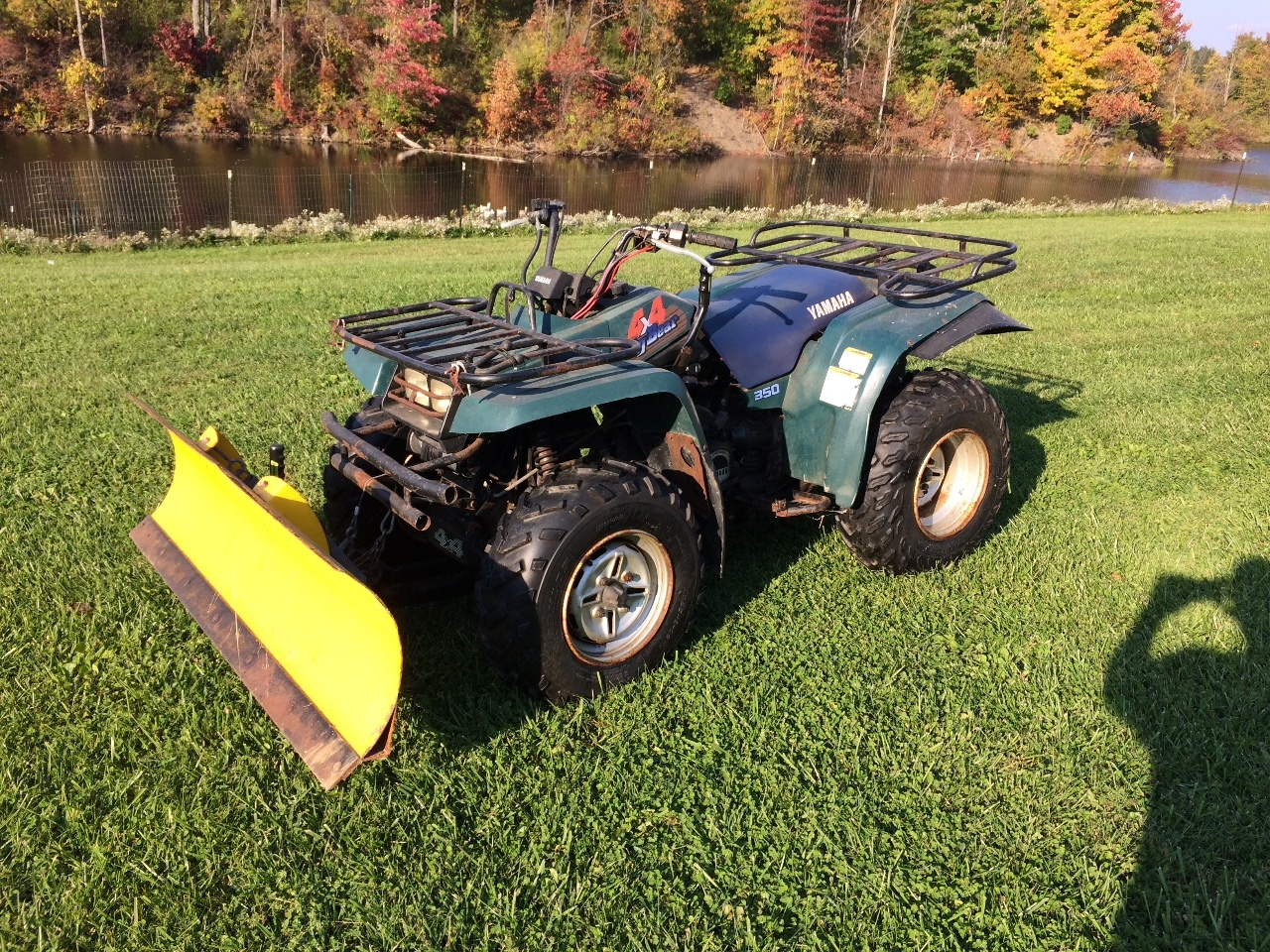 1996 yamaha big bear 350 pictures to pin on pinterest