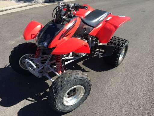2014 honda 400ex top speed