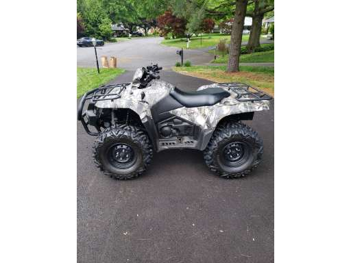Kingquad 500AXI Camo For Sale - Suzuki ATVs - ATV Trader