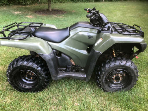 Ohio - Used Fourtrax Foreman Rubicon For Sale - Honda ATVs