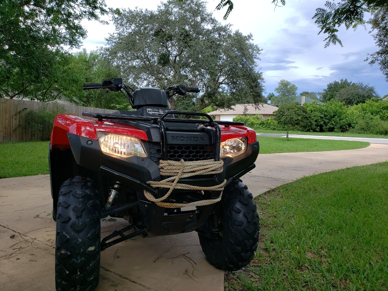 Fourtrax Rancher 2X4 At For Sale - Honda ATV,Side by Side