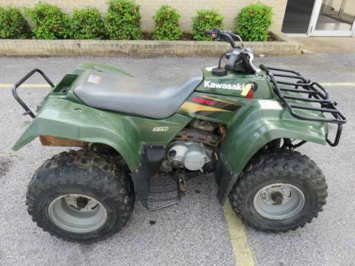 Bayou 220 For Sale - Kawasaki ATVs - ATV Trader
