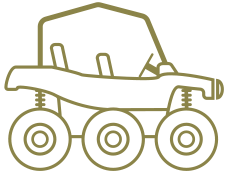 Six Wheeler ATVs for Sale