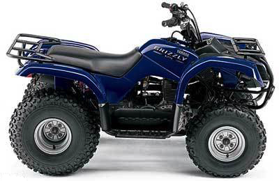 Grizzly-125-Yamaha-Utility-ATV
